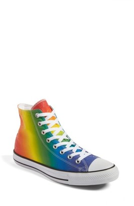 Women's Converse Chuck Taylor All Star Pride High Top Sneaker $64.95 thestylecure.com