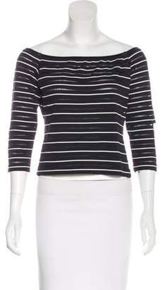 Ungaro Long Sleeve Striped Top