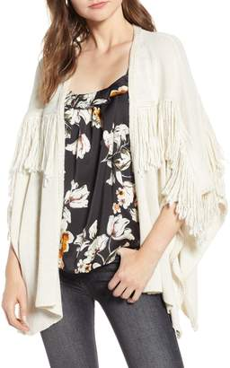 Bishop + Young Fringe Open Front Cardigan