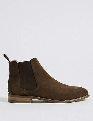 Marks and Spencer Big & Tall Suede Chelsea Boots