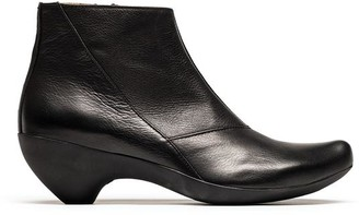 Tracey Neuls - Black Calf Leather Ginger Ankle Boot - 42 - Black/Leather