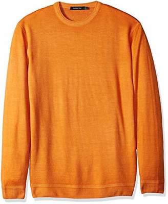 Bugatchi Men's Close-Fitting Long Sleeve Crew Neck Sweater