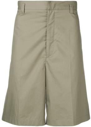 Jil Sander flared bermuda shorts
