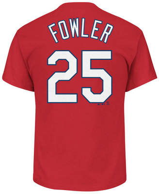 Majestic Men Dexter Fowler St. Louis Cardinals Official Player T-Shirt