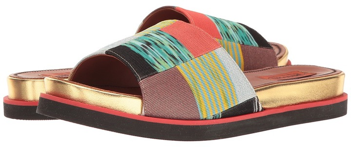 Missoni - Patchwork Slide Women's Shoes