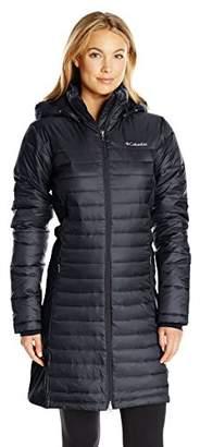 Columbia Women's Powder Pillow Hybrid Long Jacket $99.99 thestylecure.com