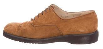 Salvatore Ferragamo Frieda Suede Oxfords
