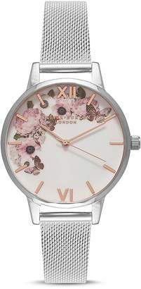 Olivia Burton Signature Florals Watch, 30mm