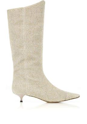 Rosie Assoulin Kitten Heel Boot