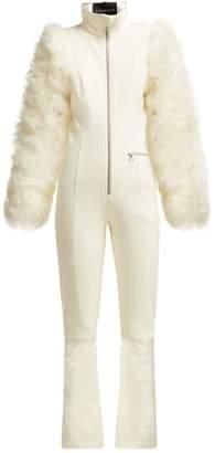 Cordova - Chamonix Zip Through Ski Suit - Womens - White