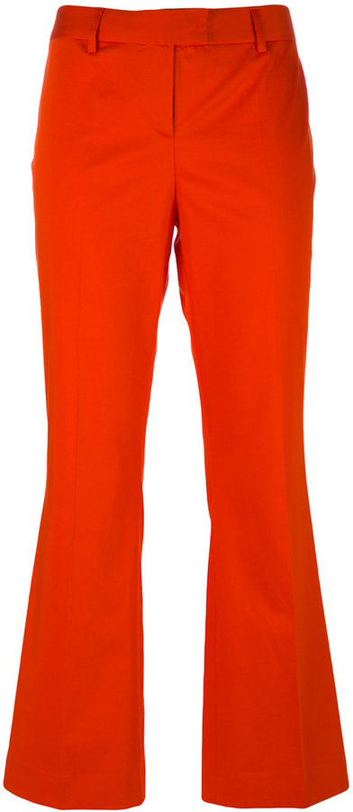 MoschinoBoutique Moschino flared cropped trousers