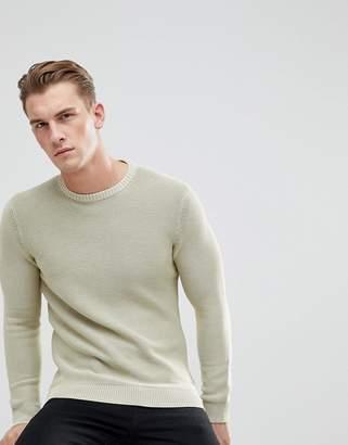 Esprit Sweater With Garment Dye