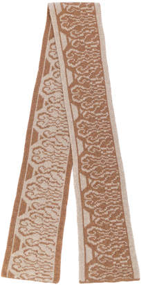 A.P.C. embroidered scarf