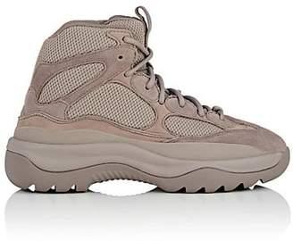 Yeezy Men's Mixed-Material Boots - Gray