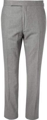 Ralph Lauren Purple Label Douglas Wool-Flannel Trousers