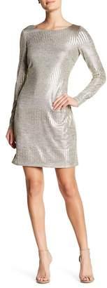 Eliza J Shimmer Pattern Shift Dress