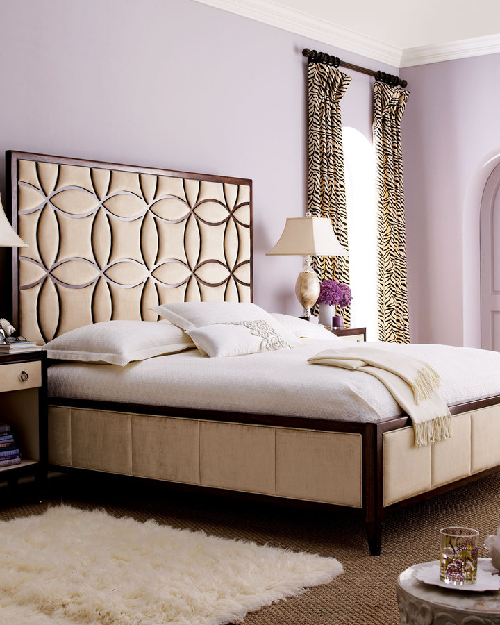 Horchow Twinkle Queen Bed