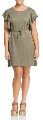 Junarose Plus Emmy Flutter-Sleeve Knit Dress