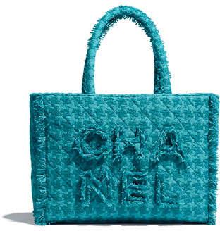 Chanel Zipped Shopping Bag