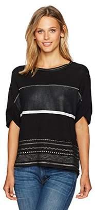 Desigual Women's Magda Woman Knitted Short Sleeve T-Shirt