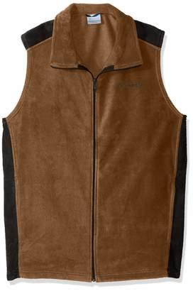 Columbia Men's Big-Tall Steens MountainTM Vest Outerwear, Delta/Black