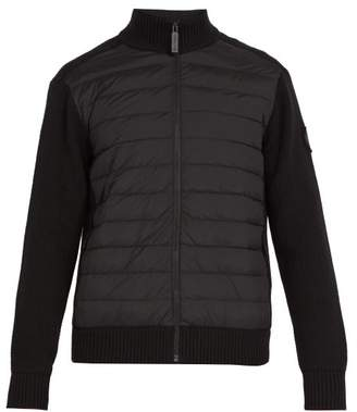 Canada Goose Hybridge Wool Jacket - Mens - Black