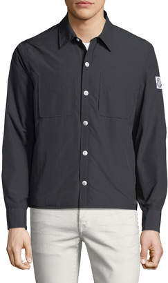 Moncler Gamme Bleu Giubbotto Seersucker Field Jacket