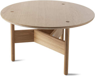 Atipico Orbital Oak Coffee Table
