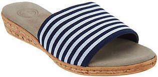 Co Charleston Shoe Single Band Slides -Seabrook