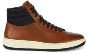 Frye Wythe Leather High-Top Sneakers