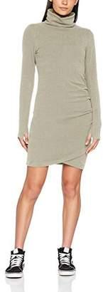 Bench Women's Slim Funnel Dress (Black Beauty Bk11179)