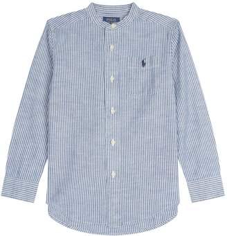 Ralph Lauren Stripe Chest Logo Shirt