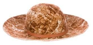 Helen Kaminski Patterned Felt Hat