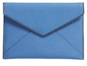 Rebecca Minkoff 'Leo' Envelope Clutch - Blue
