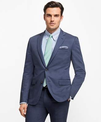 Brooks Brothers Regent Fit Stretch Cotton Suit