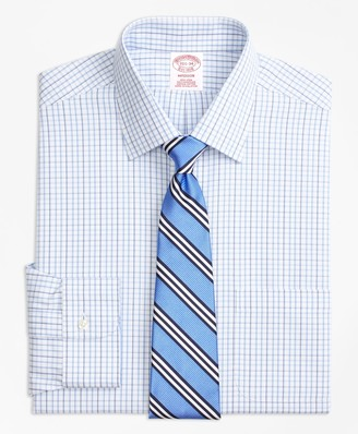 Brooks Brothers Madison Classic-Fit Dress Shirt, Non-Iron Tonal Check Windowpane