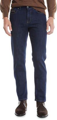 Ermenegildo Zegna Men's Luxe Straight-Leg Denim Jeans
