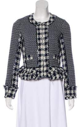 Tory Burch Beaded Tweed Jacket
