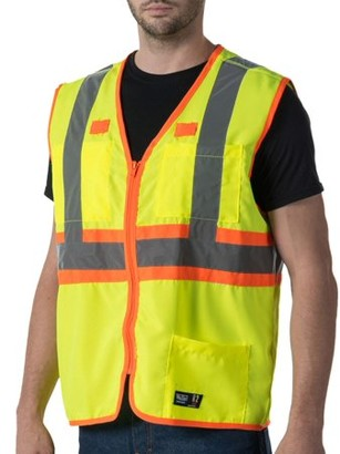 Walls Men's Premium ANSI 2 High Visibility Safety Vest