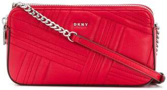 DKNY structured crossbody bag