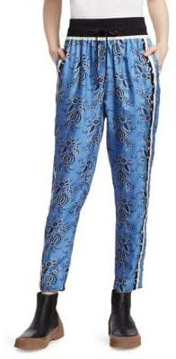 3.1 Phillip Lim Floral Drawstring Pants