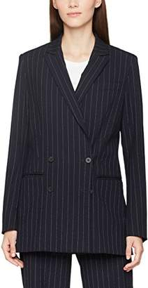 J. Lindeberg Women's Pearl Fab Pinstripe Suit Jacket,(Manufacturer Size:40)