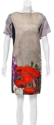 Antonio Marras Silk-Blend Printed Dress