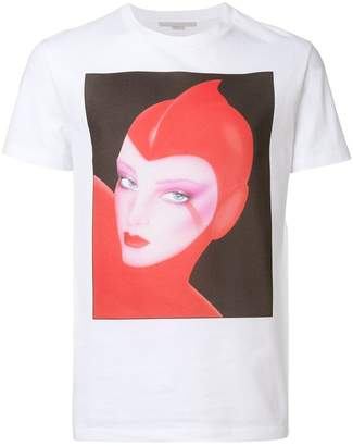 Stella McCartney front printed T-shirt