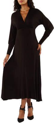 24/7 Comfort Apparel Empire Maxi Dress