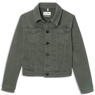 DL1961 Boys' Knit Utility Jacket - Big Kid