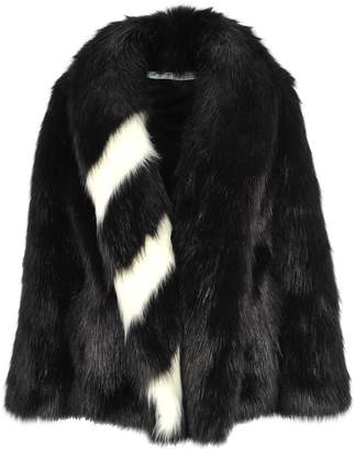 Off-White Off White Black Rap Fake Fur Black No Color