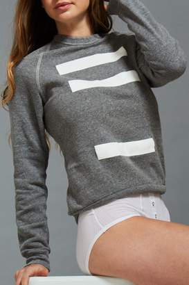 Negative Underwear Merch Jumper in Grey