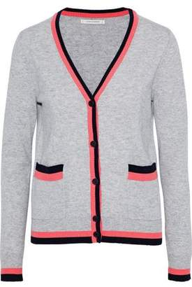 Chinti and Parker Striped Cashmere Cardigan