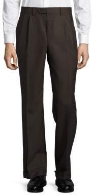 Lauren Ralph Lauren Wool Straight-Leg Pants